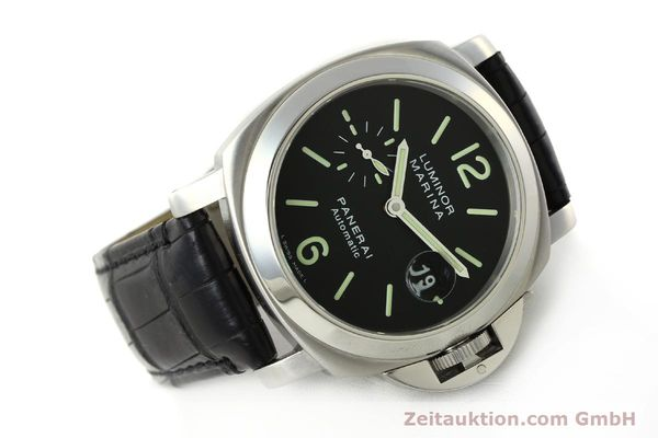 Used luxury watch Panerai Luminor Marina steel automatic Kal. OP III ETA A05511 Ref. OP6648 PAM00220  | 142454 03