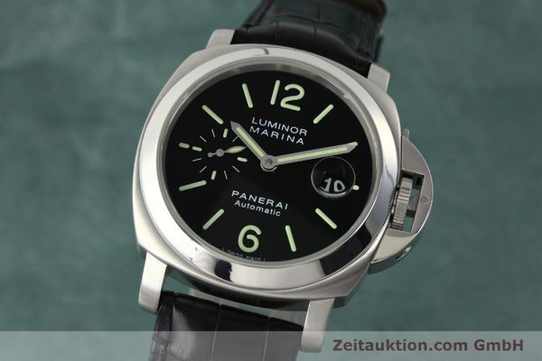 Used luxury watch Panerai Luminor Marina steel automatic Kal. OP III ETA A05511 Ref. OP6648 PAM00220  | 142454 04