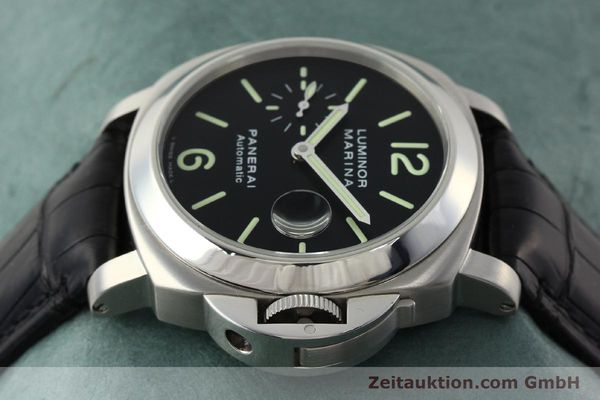 Used luxury watch Panerai Luminor Marina steel automatic Kal. OP III ETA A05511 Ref. OP6648 PAM00220  | 142454 05