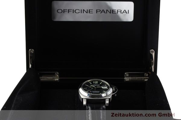 Used luxury watch Panerai Luminor Marina steel automatic Kal. OP III ETA A05511 Ref. OP6648 PAM00220  | 142454 07