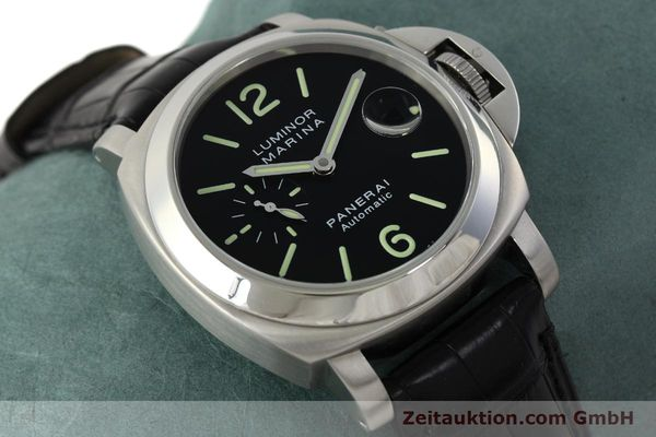 Used luxury watch Panerai Luminor Marina steel automatic Kal. OP III ETA A05511 Ref. OP6648 PAM00220  | 142454 15