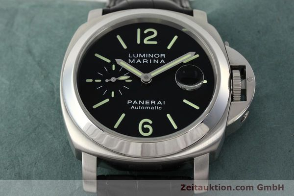 Used luxury watch Panerai Luminor Marina steel automatic Kal. OP III ETA A05511 Ref. OP6648 PAM00220  | 142454 16