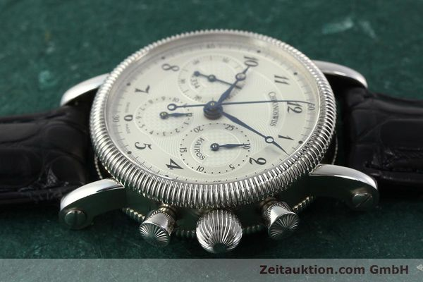 Used luxury watch Chronoswiss Kairos chronograph steel manual winding Kal. LWO 1875 Ref. CH1823  | 142455 05