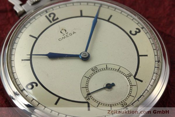 Used luxury watch Omega Taschenuhr steel manual winding Kal. 37,5L-15P  | 142456 02