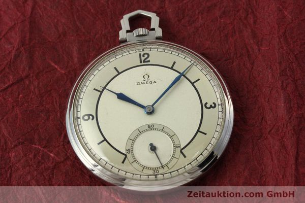 Used luxury watch Omega Taschenuhr steel manual winding Kal. 37,5L-15P  | 142456 14