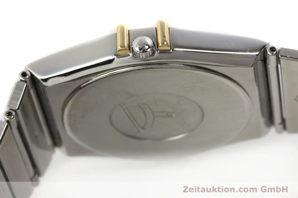 Used luxury watch Omega Constellation steel / gold quartz Kal. ETA 255.461  | 142459 08