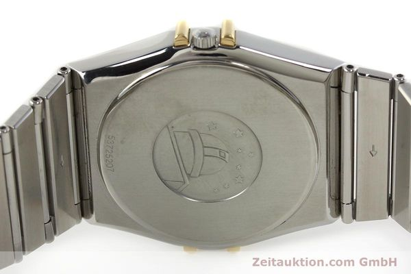 Used luxury watch Omega Constellation steel / gold quartz Kal. ETA 255.461  | 142459 09