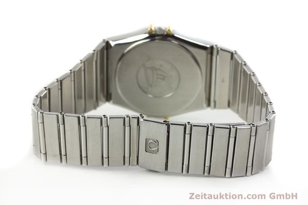 montre de luxe d occasion Omega Constellation acier / or  quartz Kal. ETA 255.461  | 142459 10