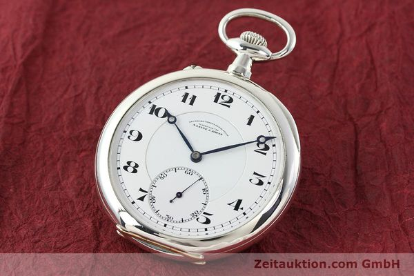 Used luxury watch A. Lange & Söhne DUF silver manual winding Kal. 43  | 142460 04