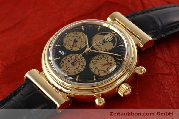 Used luxury watch IWC Da Vinci chronograph 18 ct red gold automatic Kal. C.79261 Ref. 3750  | 142463 01