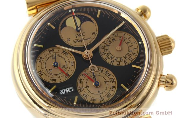 Used luxury watch IWC Da Vinci chronograph 18 ct red gold automatic Kal. C.79261 Ref. 3750  | 142463 02