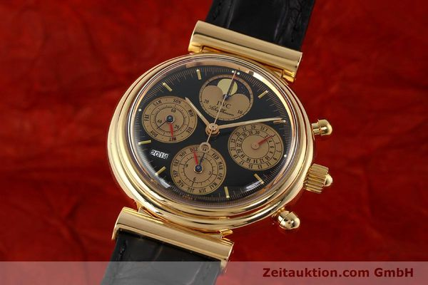 Used luxury watch IWC Da Vinci chronograph 18 ct red gold automatic Kal. C.79261 Ref. 3750  | 142463 04