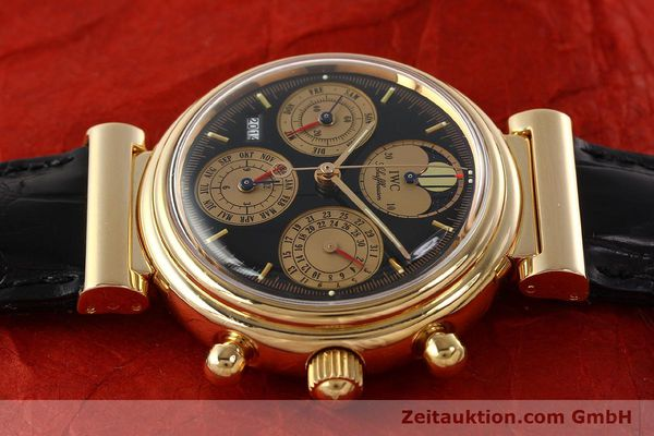Used luxury watch IWC Da Vinci chronograph 18 ct red gold automatic Kal. C.79261 Ref. 3750  | 142463 05