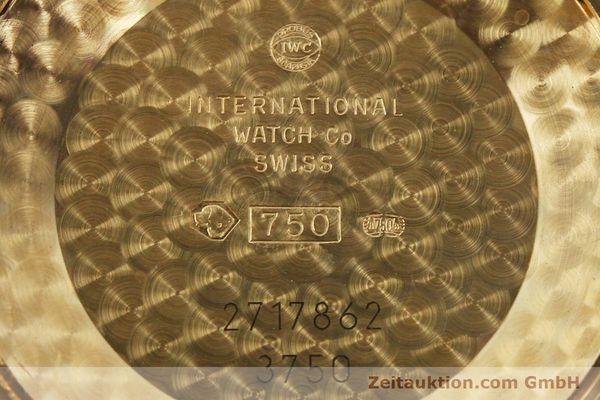 Used luxury watch IWC Da Vinci chronograph 18 ct red gold automatic Kal. C.79261 Ref. 3750  | 142463 09