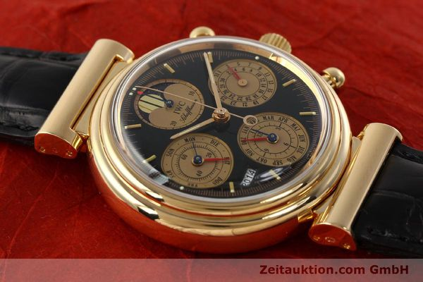 Used luxury watch IWC Da Vinci chronograph 18 ct red gold automatic Kal. C.79261 Ref. 3750  | 142463 13