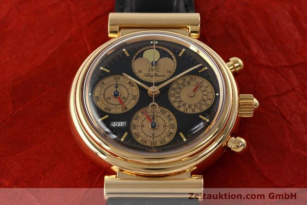 Used luxury watch IWC Da Vinci chronograph 18 ct red gold automatic Kal. C.79261 Ref. 3750  | 142463 14