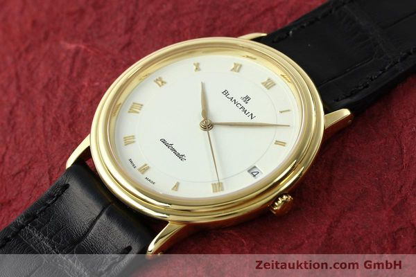 Used luxury watch Blancpain Villeret 18 ct gold automatic Kal. 9513  | 142464 01