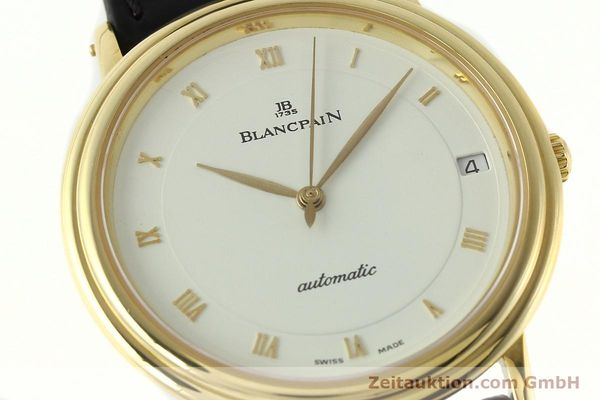 Used luxury watch Blancpain Villeret 18 ct gold automatic Kal. 9513  | 142464 02