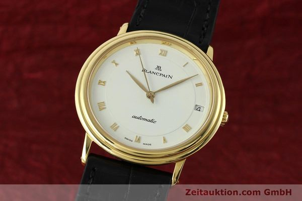 Used luxury watch Blancpain Villeret 18 ct gold automatic Kal. 9513  | 142464 04