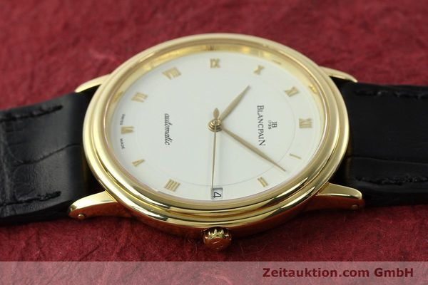 Used luxury watch Blancpain Villeret 18 ct gold automatic Kal. 9513  | 142464 05