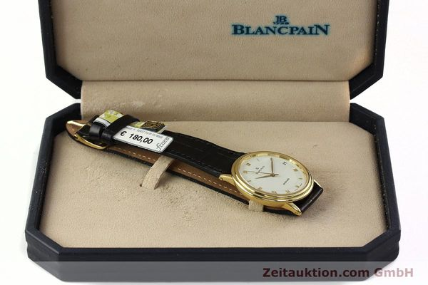 Used luxury watch Blancpain Villeret 18 ct gold automatic Kal. 9513  | 142464 07