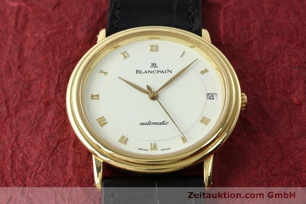 Used luxury watch Blancpain Villeret 18 ct gold automatic Kal. 9513  | 142464 17