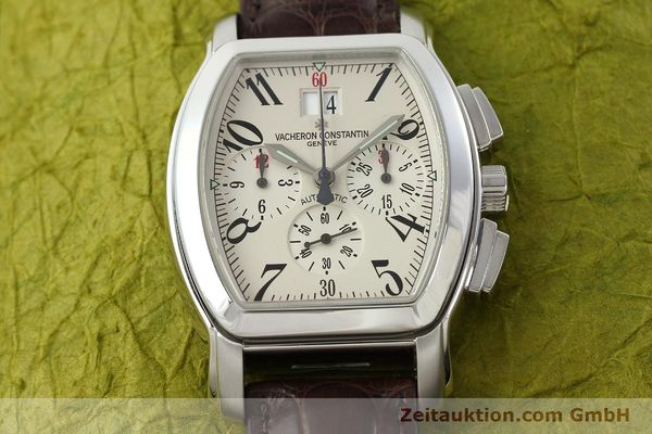 Used luxury watch Vacheron & Constantin Royal Eagle chronograph steel automatic Kal. 1137 Ref. 49145  | 142465 16