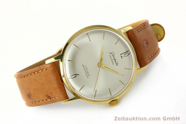 Used luxury watch Glashütte * gold-plated manual winding Kal. 70.1  | 142484 03