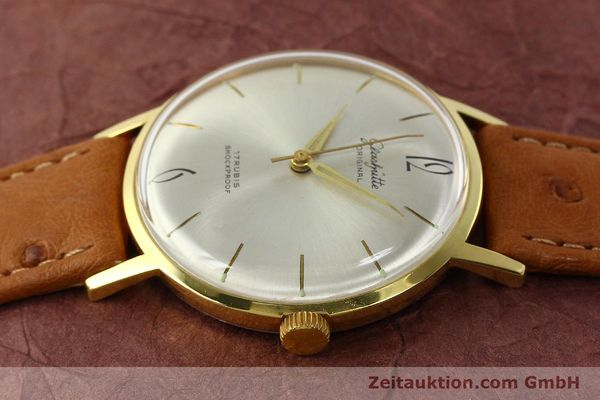 Used luxury watch Glashütte * gold-plated manual winding Kal. 70.1  | 142484 05
