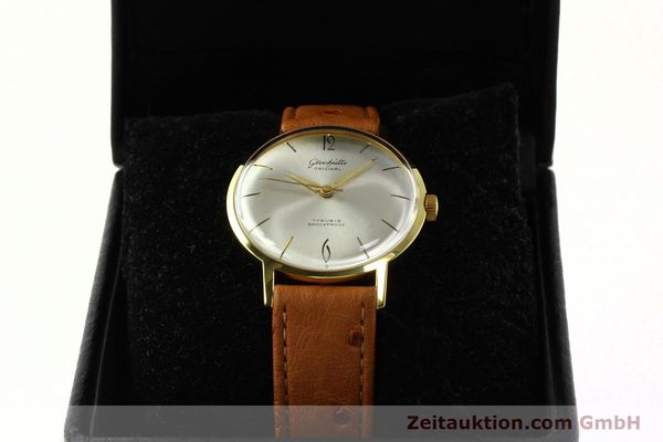Used luxury watch Glashütte * gold-plated manual winding Kal. 70.1  | 142484 07