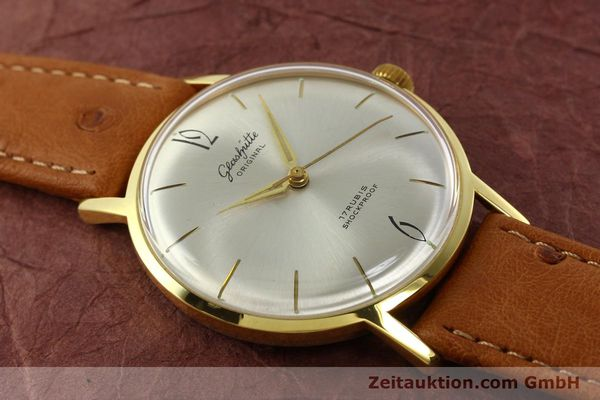 Used luxury watch Glashütte * gold-plated manual winding Kal. 70.1  | 142484 12