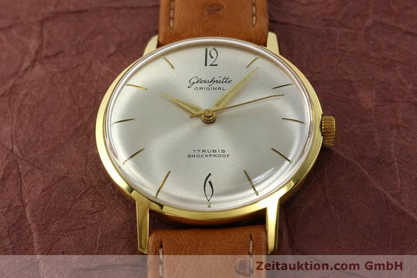 Used luxury watch Glashütte * gold-plated manual winding Kal. 70.1  | 142484 13