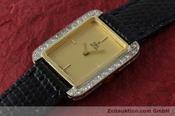 Used luxury watch Ebel * 18 ct gold manual winding Kal. 67X ETA 2412  | 142485 01