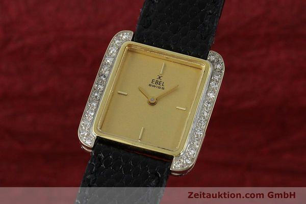 Used luxury watch Ebel * 18 ct gold manual winding Kal. 67X ETA 2412  | 142485 04