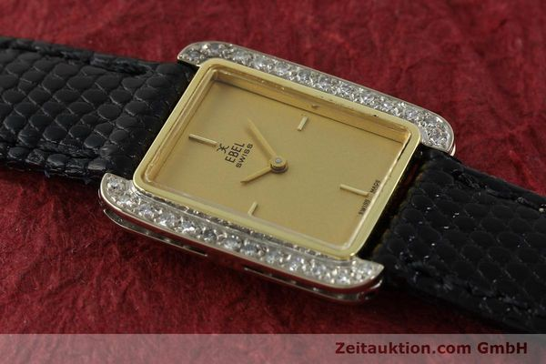 Used luxury watch Ebel * 18 ct gold manual winding Kal. 67X ETA 2412  | 142485 13