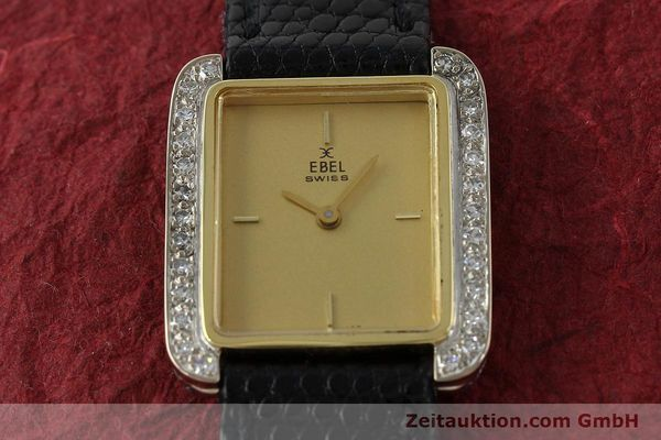 Used luxury watch Ebel * 18 ct gold manual winding Kal. 67X ETA 2412  | 142485 14