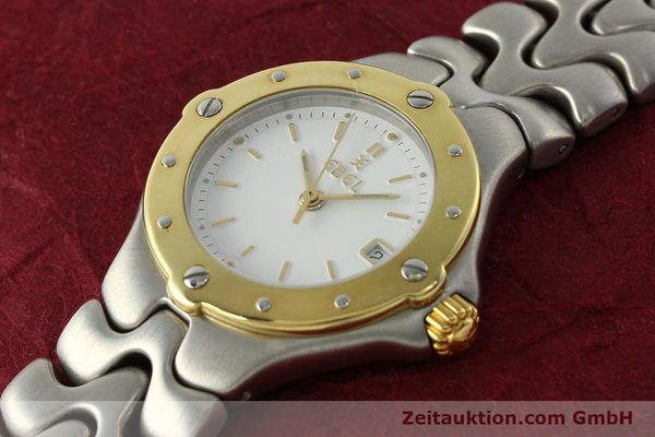 Used luxury watch Ebel Sportwave steel / gold quartz Kal. 87 Ref. 6087621  | 142487 01