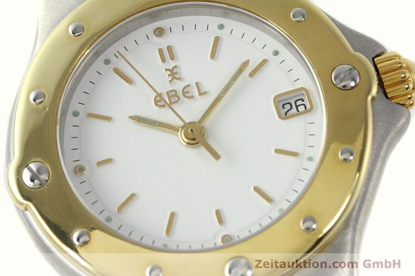 Used luxury watch Ebel Sportwave steel / gold quartz Kal. 87 Ref. 6087621  | 142487 02