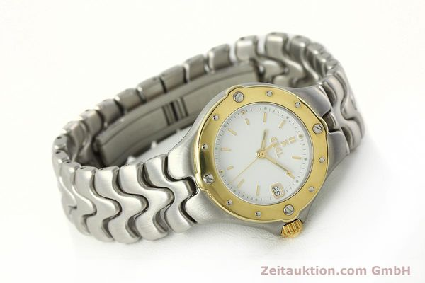Used luxury watch Ebel Sportwave steel / gold quartz Kal. 87 Ref. 6087621  | 142487 03