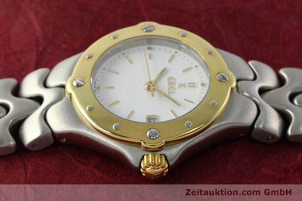 Used luxury watch Ebel Sportwave steel / gold quartz Kal. 87 Ref. 6087621  | 142487 05