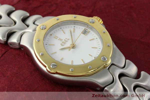 Used luxury watch Ebel Sportwave steel / gold quartz Kal. 87 Ref. 6087621  | 142487 14