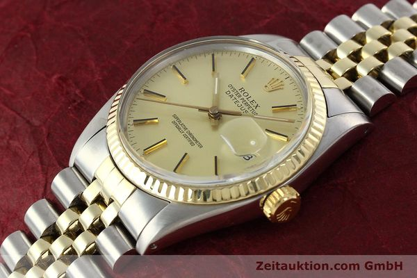 montre de luxe d occasion Rolex Datejust acier / or  automatique Kal. 3035 Ref. 16013  | 142488 01