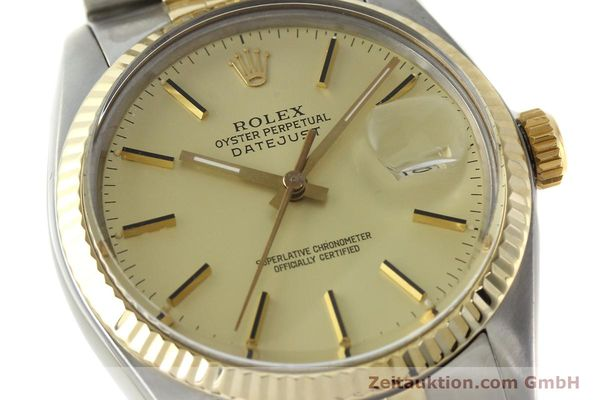 montre de luxe d occasion Rolex Datejust acier / or  automatique Kal. 3035 Ref. 16013  | 142488 02