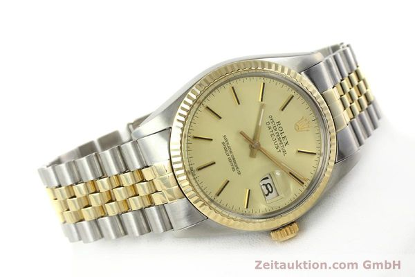montre de luxe d occasion Rolex Datejust acier / or  automatique Kal. 3035 Ref. 16013  | 142488 03