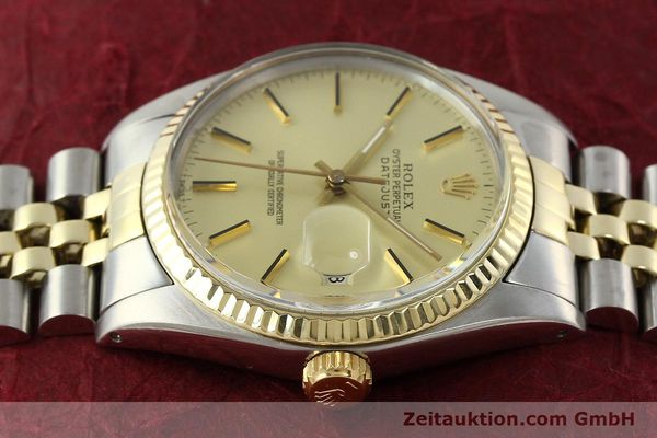 montre de luxe d occasion Rolex Datejust acier / or  automatique Kal. 3035 Ref. 16013  | 142488 05