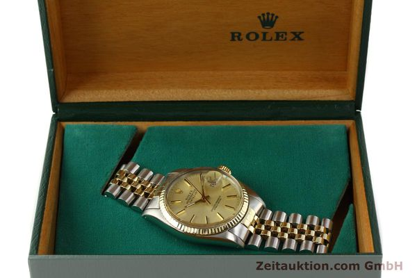 montre de luxe d occasion Rolex Datejust acier / or  automatique Kal. 3035 Ref. 16013  | 142488 07