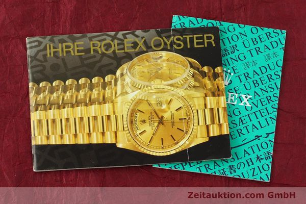 montre de luxe d occasion Rolex Datejust acier / or  automatique Kal. 3035 Ref. 16013  | 142488 08