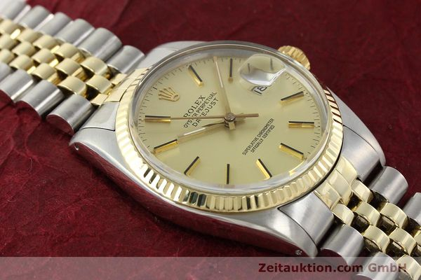 montre de luxe d occasion Rolex Datejust acier / or  automatique Kal. 3035 Ref. 16013  | 142488 16