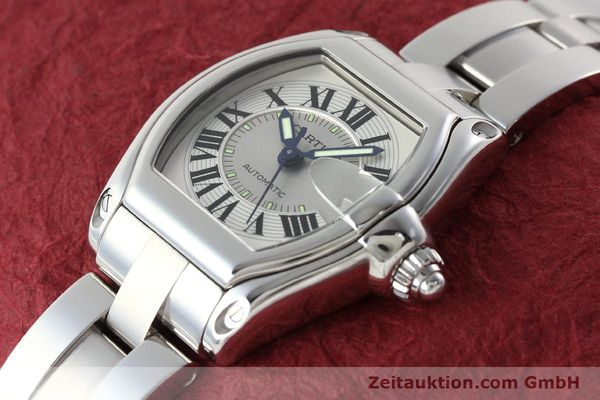 Used luxury watch Cartier Roadster steel automatic Kal. 3110 ETA 2892-2  | 142489 01