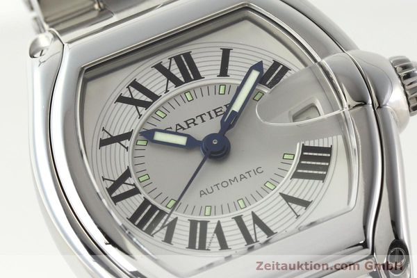 Used luxury watch Cartier Roadster steel automatic Kal. 3110 ETA 2892-2  | 142489 02